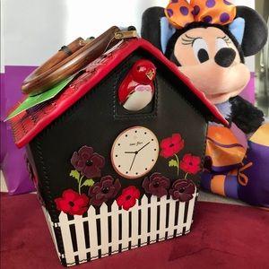 Kate Spade ♠️ ooh la la cuckoo clock handbag